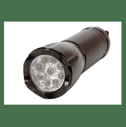 Eleven ไฟฉาย ขนาด 2.8x10.1x2.8 cm  E011028 สีดำ