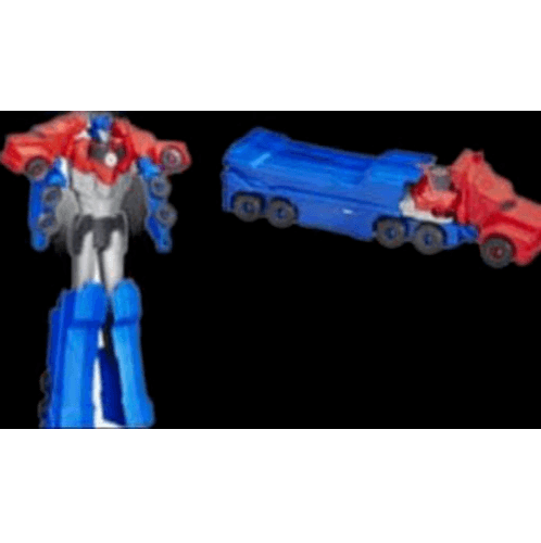 Sanook&Toys ชุดหุ่นยนต์ Transformer 4 mix คละสี  269837