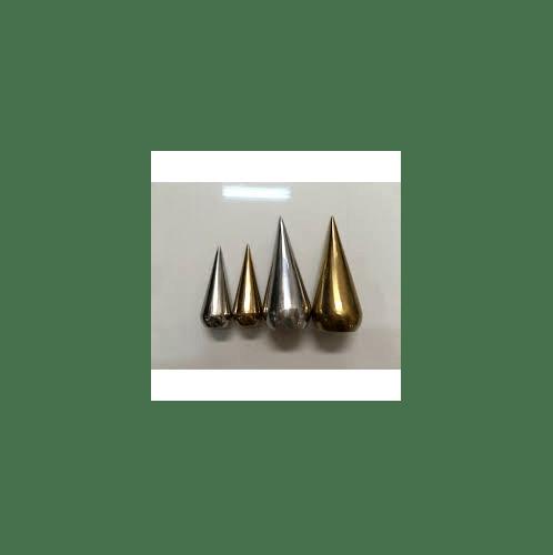Candy  ลายประกอบเหล็กดัด - ศรบัว บาง  1.1/2นิ้ว  รู 3/4นิ้ว C-028 สีทอง
