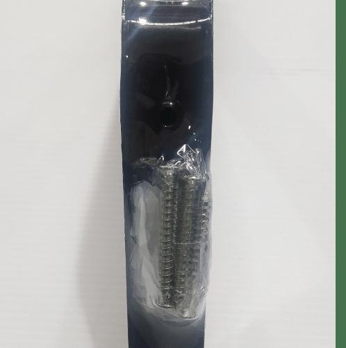 TORSTEN ฉากรับชั้นเหล็ก (แพ็ค2ชิ้น) ขนาด 20*2.6*14ซม.  PQS-SJJ010Z  สีน้ำตาล