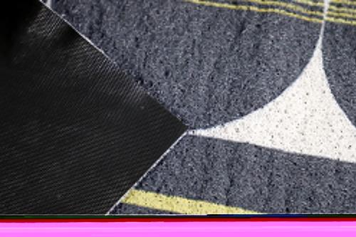 GRAFFE พรมเช็ดเท้าดักฝุ่นพิมพ์ลาย  ขนาด 120*180 ซม.