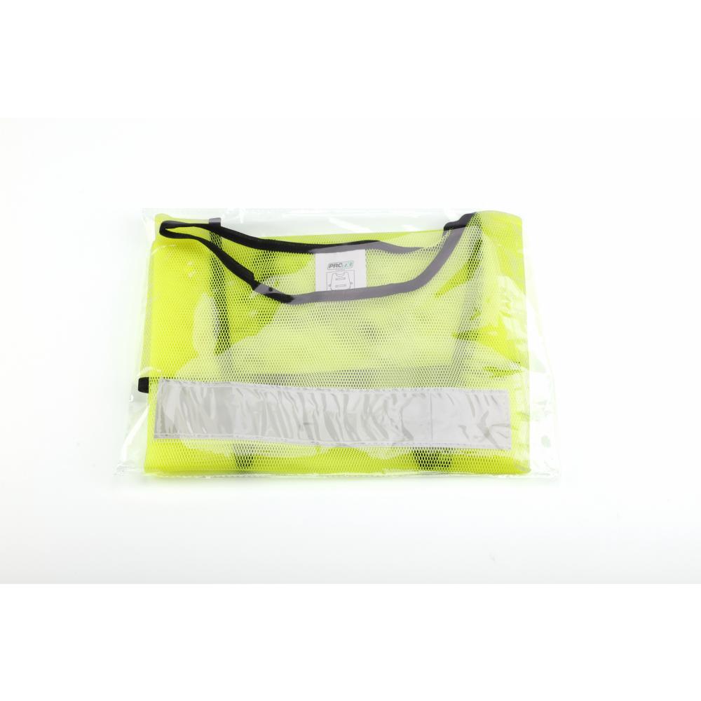 Protx เสื้อจราจรสะท้อนแสง 2แถบ 1ZC-008-Free Size สีเขียว