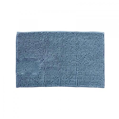 COZY พรมเช็ดเท้าขนนุ่ม  ขนาด 40×60×1.1ซม.  JHX-5 สีน้ำเงิน