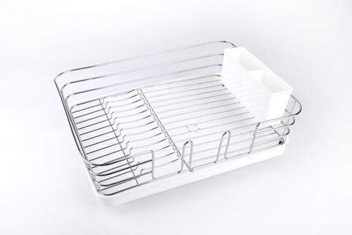 GOME ที่คว่ำจาน ขนาด 30x39x12ซม.  Pro Kitch02 สีขาว