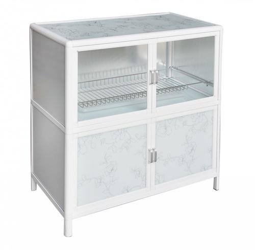 CLOSE ตู้อเนกประสงค์ ขนาด 80x40x86 ซม.  AURA-S  สีขาว