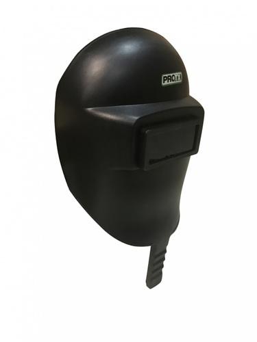 PROTX หน้ากากกั้นสะเก็ด แบบมือจับ WH-16 สีดำ