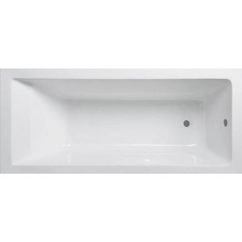 VERNO อ่างอาบน้ำพร้อมสะดือ ขนาด 150X70X40 cm. Java 1036  สีขาว