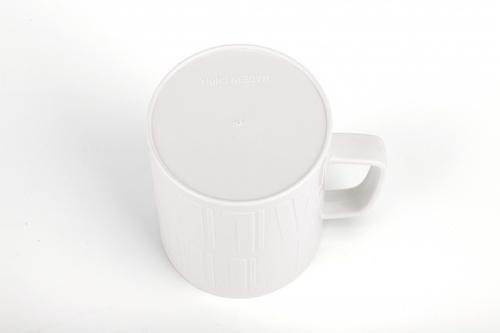 GOME แก้วน้ำดื่มพลาสติก  J-03  ขาว