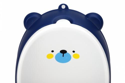 Primo Kids โถปัสสาวะสำหรับเด็กชาย รูปหมี ขนาด 9x19x46 cm 3HBYT-BL