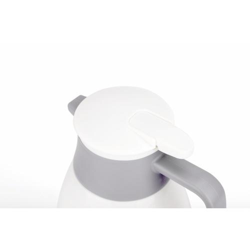 SANE เหยือกน้ำเก็บอุณหภูมิ 1.3 ลิตร FREDDO สีขาว-เทา