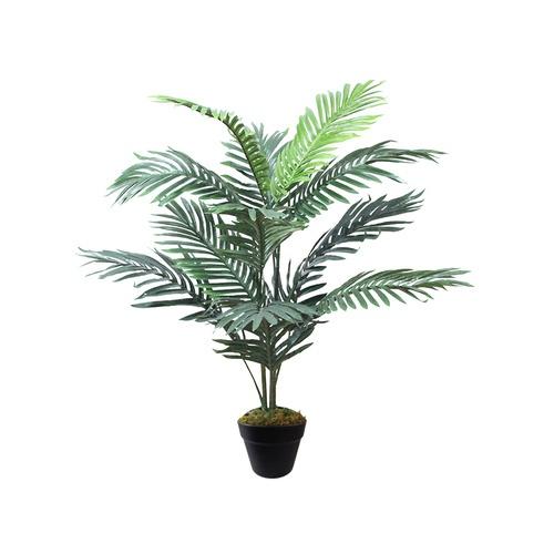 Tree O ต้นปาล์มประดิษฐ์ สูง 90 ซม. 11LVS พร้อมกระถาง JWTL014  สีเขียว