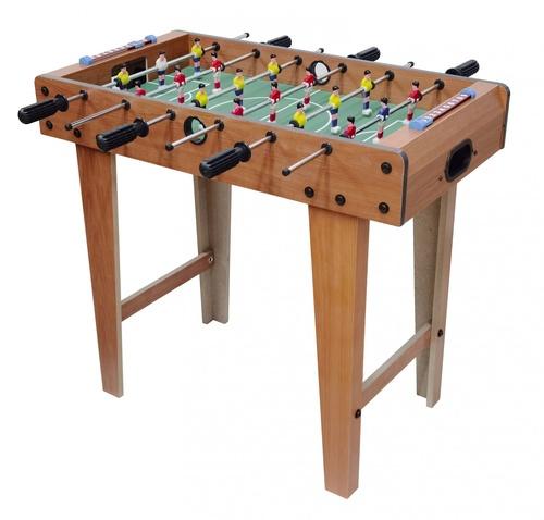 4TEM โต๊ะบอลมือหมุน ขนาด 69×37×62ซม. สีไม้ธรรมชาติ GB033-HF