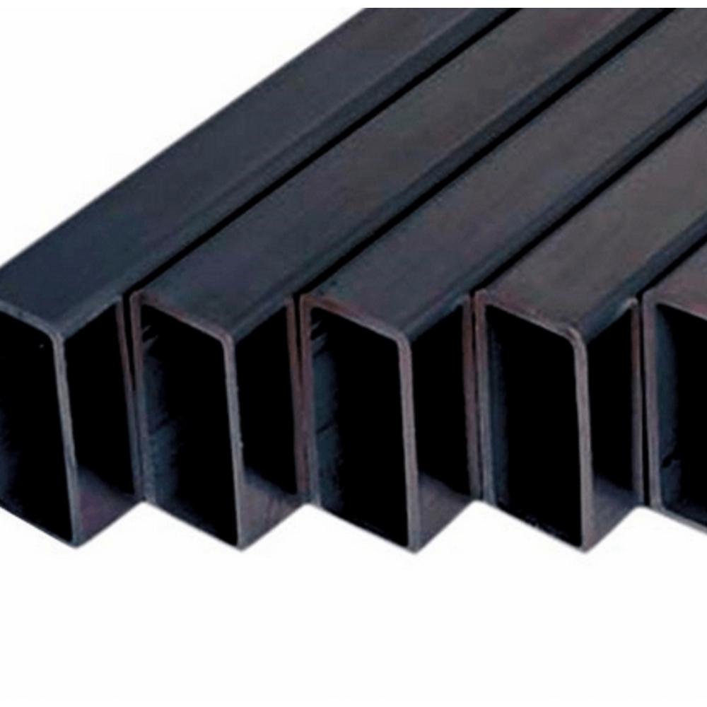 -  แป๊บแบน 100x50x1.7มม JIS สีดำ