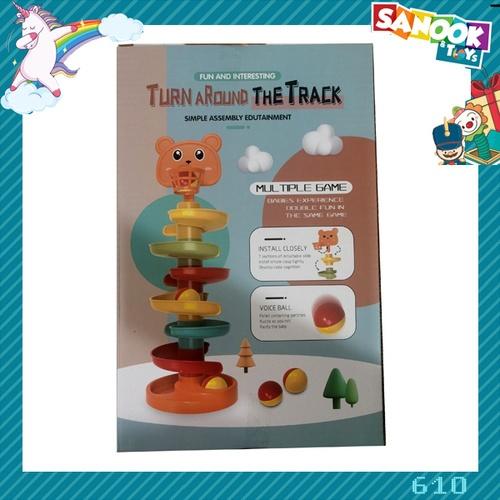 Sanook&Toys ของเล่นลูกบอลสไลเดอร์  #610 (17.5x15x27ซม.)